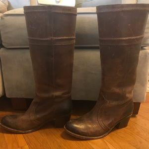 Frye knee high boots